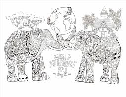 Small Picture Pages Elephants Baby Elephant Coloring Pages U Barriee Free