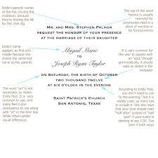 how to word your wedding invitations basic & traditional How To Start A Wedding Invitation wedding wording we'll start with the classic bride's parents issuing the invitation and, don't worry i'll supplement with other versions soon start a wedding invitation business