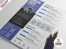 029 Simple Creative Resume Template Free Download Ideas