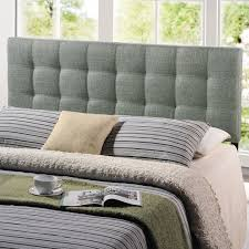 tufted upholstered beds. Button Tufted Upholstered Headboard Bed King Size Grey Linen Nailhead  Furniture Tufted Upholstered Beds