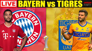 BAYERN MUNICH vs TIGRES LIVE STREAMING - Club World Cup Final Football  Match En Vivo Watchalong - YouTube