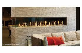 davinci custom linear fireplaces postless design
