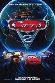 cars 2 the movie cover. Unique Cars CARS 2 POSTER For Cars The Movie Cover S