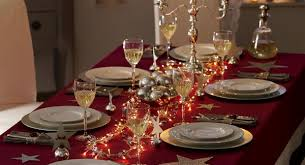 red and silver table decorations. Red And Silver Christmas Table Decorations Tittle C