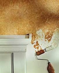 wall painting techniques | your not a very good painter it s easy to get a   Faux Painting TechniquesWall FinishesWall ...