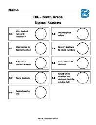 Ixl Progress Chart Ixl Math Progress Charts For 6th Grade