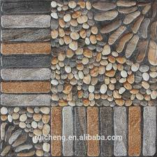 Small Picture 2015 New Design Non slip 3d Inkjet Rustic Floor Tile 400x400mm For