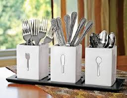 best 25 silverware storage ideas on utensil storage countertop silverware holder