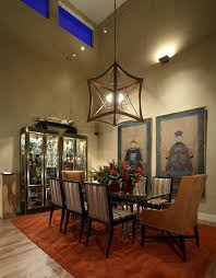 chinese style living room ceiling. Glass Cabinet Display In The Dining Room Filled With Chinese Decorative Pieces [Design: Culbertson Style Living Ceiling S