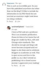 Dr Sarah Bond On Twitter We Must Citeblogs Httpstco
