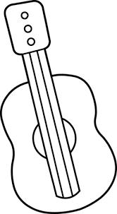Small Picture Cute Mini Guitar Coloring Page Free Clip Art