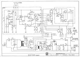 rigpix database schematics manuals n stuff daiwa ps 600 · schematic