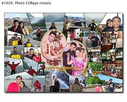Example Of A Collage Custom Wedding Photo Collage Examples 3