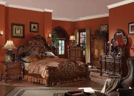 ornate bedroom furniture. Wonderful Bedroom Ornate Bedroom Furniture Beautiful Cherry Wood Canopy Sets  In D