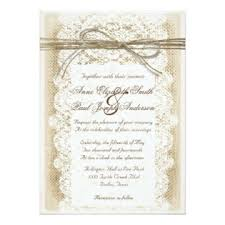 Burlap And Lace Wedding Invitations Burlap And Lace Wedding Invitations Dream Wedding Ideas
