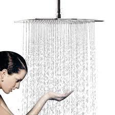 Wyjp Duschkopf Regendusche Einbauduschköpfe Kopfbrause Regenbrause Mit Anti Kalk Düsen Edelstahl Poliert Spiegeleffekt Hochglänzend 304