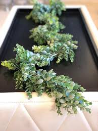 5 5 6 eucalyptus garland artificial eucalyptus garland wedding centerpiece eucalyptus swag greenery garland table runner succulent