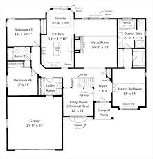 2500 sq ft bungalow house plans inspirational ranch floor plans 2500 square feet