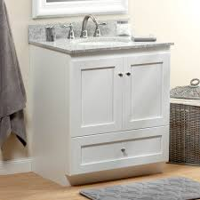 strasser 01 156 2 simplicity 30in satin white vanity cabinet only