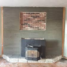fireplace facade diy ideas