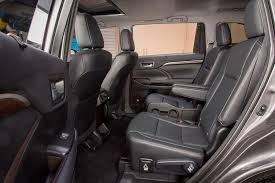 which 2016 three row suvs offer second row captain s chairs
