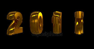 Rotating Numbers Gold Rotating Numbers 2017 On A Black Background Video Loop