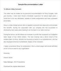 Reference For Business Full Testimonial Letter Sample Template