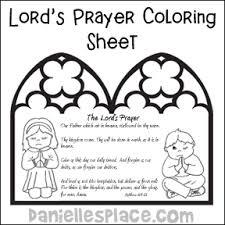 Prayer Bible Crafts And Activities