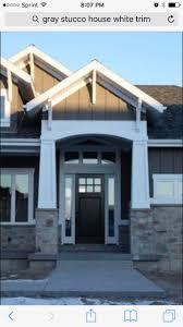 Lane Myers Construction Custom Home Builder Christensen Residence Front  Entry Front Door