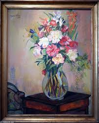 bouquet of flowers by suzanne valadon museum quality copies impressionism topimpressionists com