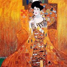 Moderne Abstrakte 100% Handgemachte gustav klimt adele bloch bauer (porträt  ölgemälde Der kuss Klimt 30X30 zoll|oil painting|paintings on canvasoil  painting on canvas - AliExpress