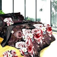 black and fl bedding black fl bedding duvet cover vintage rose set large size peach pink and white black fl bedding black fl baby bedding