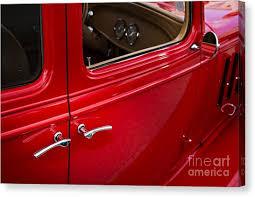 classic car door handle. 1933 Chevrolet Chevy Sedan Classic Car Door Handle In Color 3170 Canvas Print By M K Miller