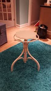 small round side lamp table