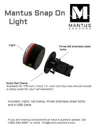Snap On Light Mantus Snap On Light Manualzz Com