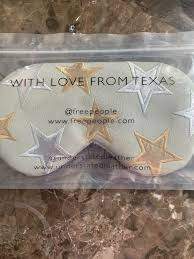 nip free people understated leather starry eyed eye mask with love from texas