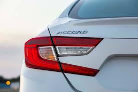 2018 Honda Accord Brake Lights 2018 Honda Accord Reviews Research Accord Prices Specs Motortrend