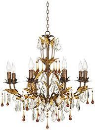 kathy ireland lighting fixtures. wonderful fixtures kathy ireland venezia gold 8light 26u0026quot wide chandelier on lighting fixtures r