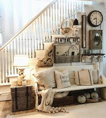 country style wall decor for living