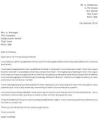 Example Of Teacher Cover Letter Uk Cv And Cover Letter