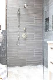 grey shower tiles. Bathroom Ideas Gray And White, Yellow Ideas, Interior Design, Small, Tile Grey Shower Tiles I