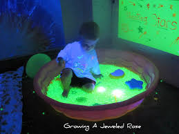 Sinkable Pool Lights Black Light Play For Kids Glow Sticks Sensory Play Kids