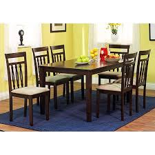 seven piece dining set:  carson  piece dining set espresso