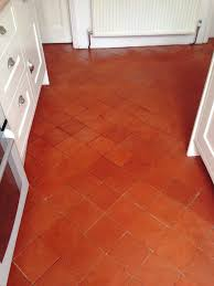 Red Floor Tiles Kitchen Quarry Tiles East Surrey Tile Doctor