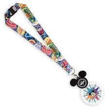 Light Up Lanyard If Your Pin Collection Isnt Already Glowing It Sure Will
