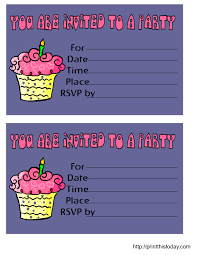 Free Online Party Invitations With Rsvp Free Birthday Invitations Free Printable Birthday Invitation