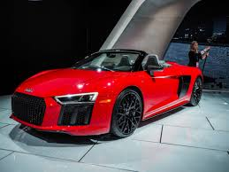 2018 Detroit Auto Show: Audi R8 Spyder -- The Last of a Great Thing?