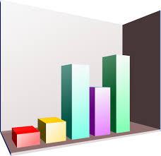 3d Bar Graph Clip Art Vector Clip Art Online Royalty Free