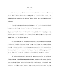 brief essay format com brief essay format 1 history of english on language jovyq a slideshare your academic