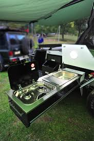 Camper Trailer Kitchen Ute Canopy Kitchen Google Search Camper Trailers Ideas